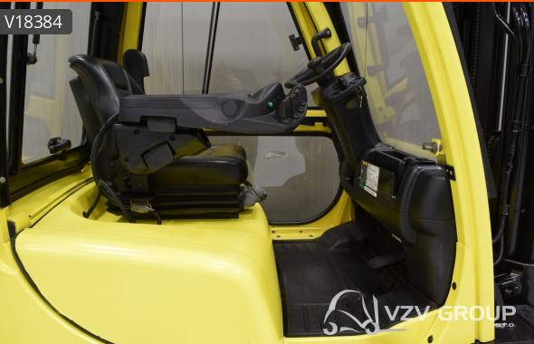 HYSTER H 2.5 FT - Diesel, 2010, cabin, SS, free lift, TRIPLEX, only 6087 hrs